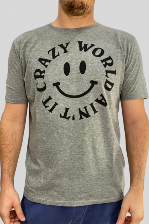REMERA CRAZY WORLD